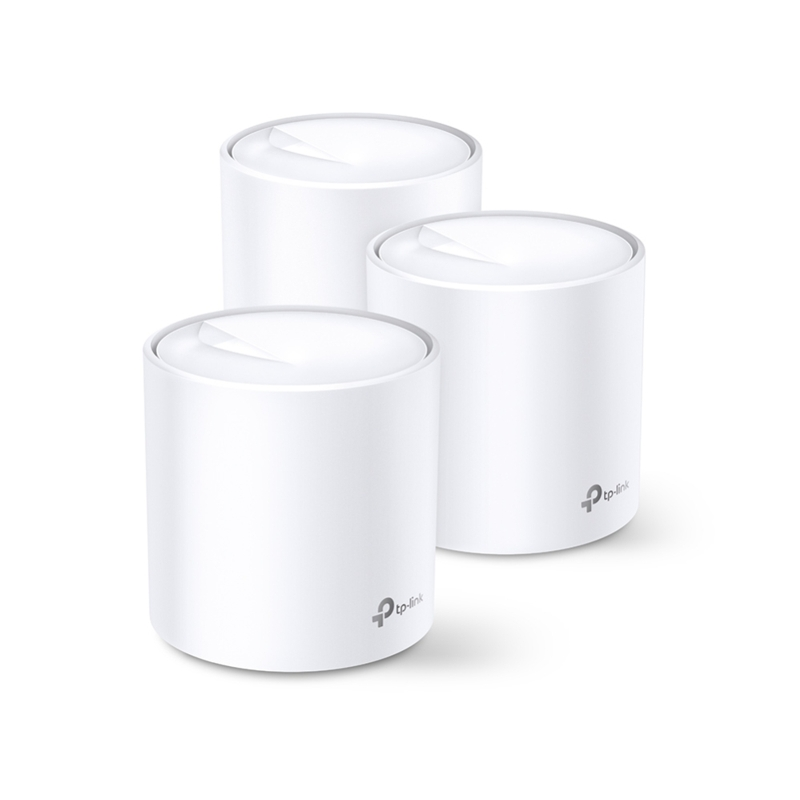 TP-Link Deco X60 Plus (3-pack) AX3000 Smart Home Mesh Wi-Fi System
