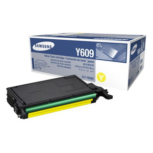 Samsung CLT-Y609S Yellow Toner for CLP-770ND, CLP-775ND (Average 7,000 Pages @ ISO/IEC 19798)