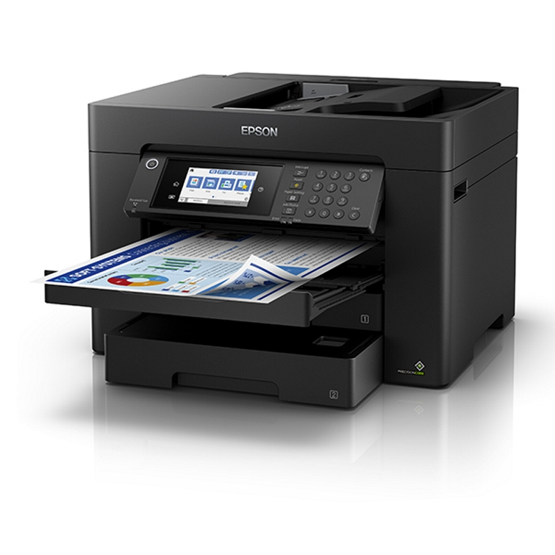 Epson WorkForce WF7845 A3+ Inkjet Multifunction with PrecisionCore - Print, Copy, Scan and Fax