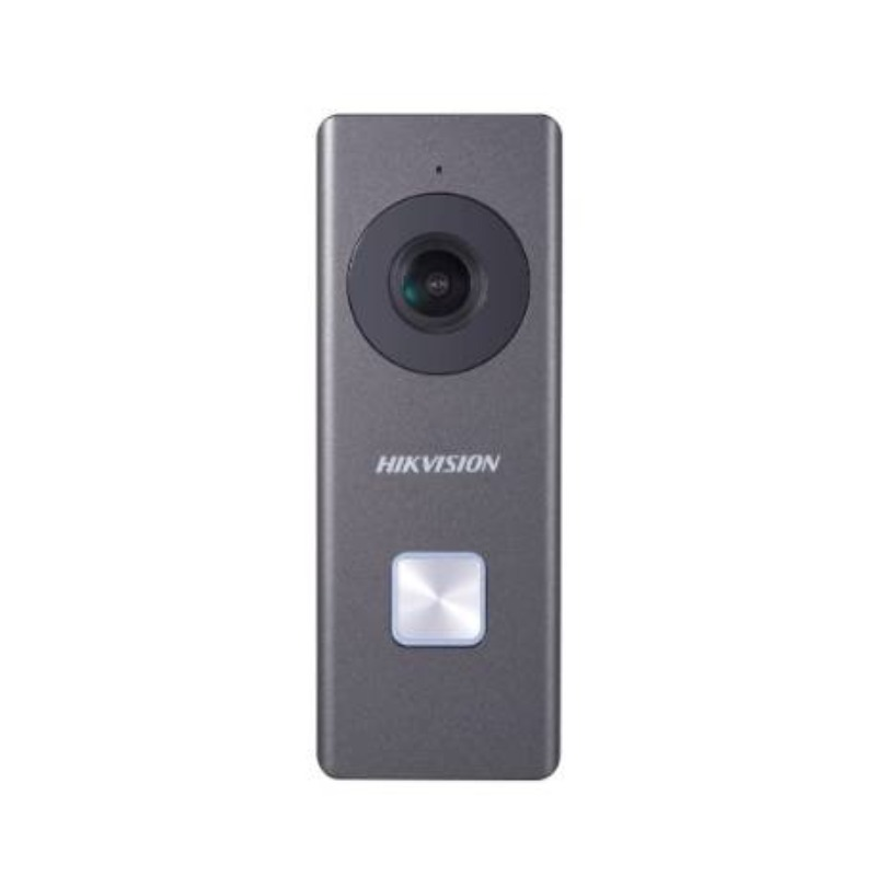 Hikvision DS-KB6403-WIP WiFi Doorbell with inbuilt Wide Angle Camera, 12V DC