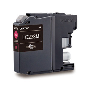 Brother LC-233M Magenta Ink Cartridge (Yield, up to 550 pages)