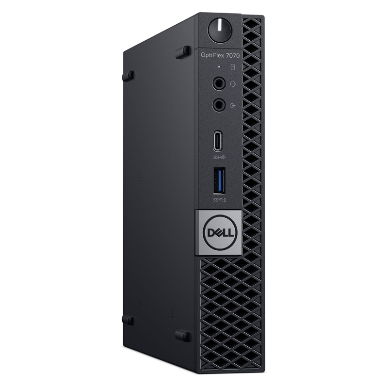 Dell Optiplex 7070 MFF, Core i5-9500T 2.2/3.7Ghz, 8GB, 256GB SSD,  Win 10 Pro 64, 3 Yr