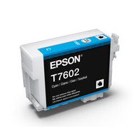 Epson C13T760200 UltraChrome HD, Cyan Ink Cartridge