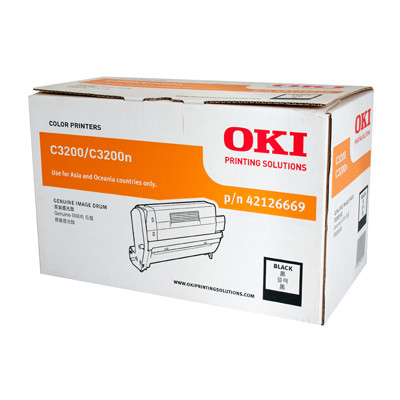 OKI Black Drum unit to suit C3200 (22000 Yield)