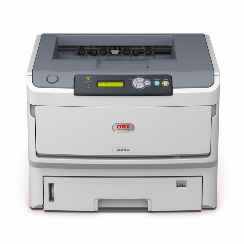 OKI B820DN Mono A3/A4 Printer with Duplex and  Network