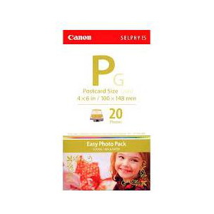 Canon EP20G E-P20G 4 Inchx6 Inch 20 Sheets + Gold Ink