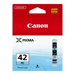 Canon CLI42PC Photo Cyan Ink Cartridge to suit PRO100/100S (Yield, 60 pages)
