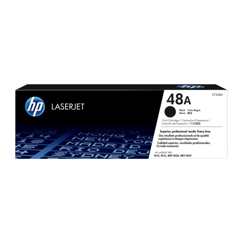 HP CF248A #48A Black Toner Cartridge (1,000 Yield)