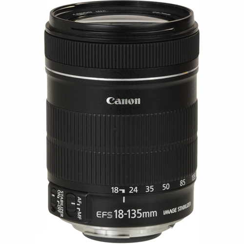 Canon EFS18-135IS EF-S 18-135mm f/3.5-5.6 IS, Filter Diameter 67mm