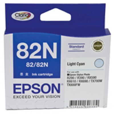 Epson C13T112592 Light Cyan Ink Cartridge (replaces C13T082590)