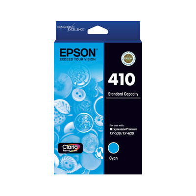 Epson C13T338292 Std Capacity Cyan Ink Cartridge (Yields up to 300 pages)