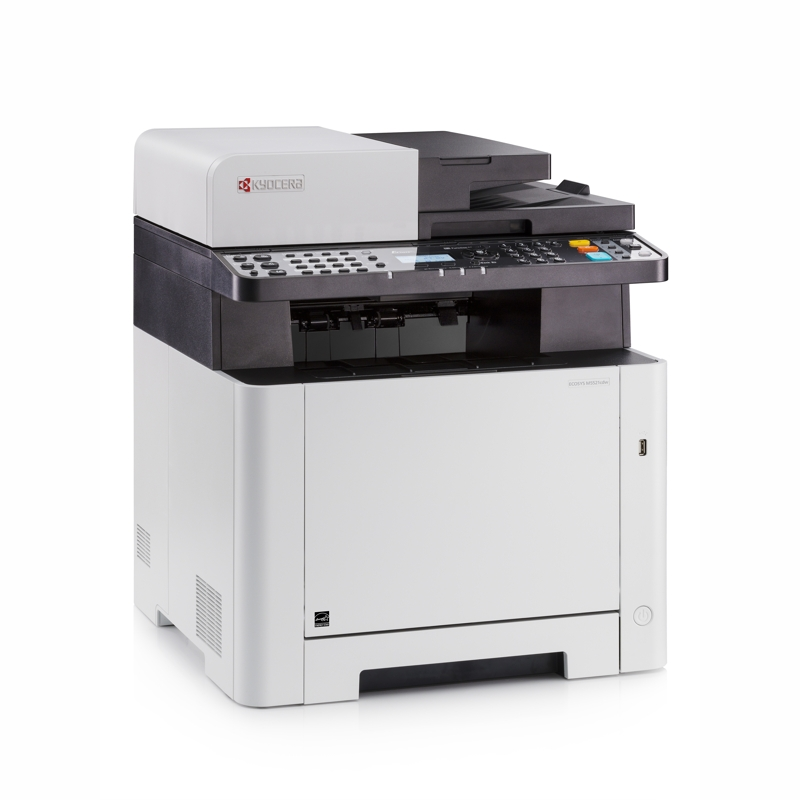 Kyocera M5521CDW 21ppm Colour Laser Multifunction - Print, Copy, Scan Fax, Ethernet and Wireless