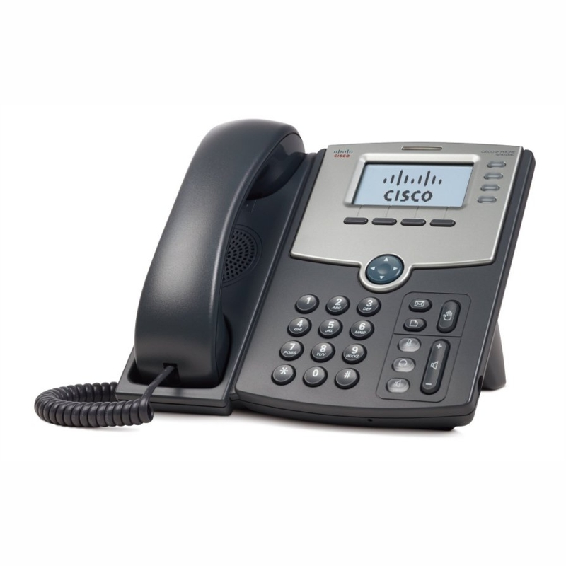 Cisco SPA504G 4-Line IP Phone with Display, PoE and PC Port