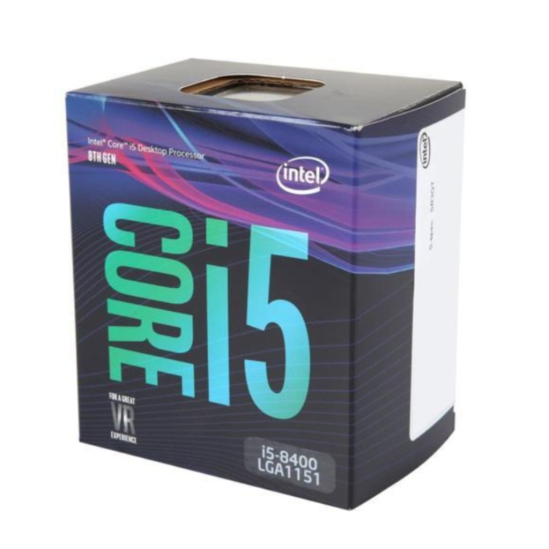 Intel BX80684I58400 Core i5-8400 Processor, up to 4Ghz, LGA1151