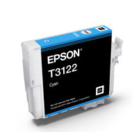 Epson C13T312200 UltraChrome Hi-Gloss2, Cyan Ink Cartridge