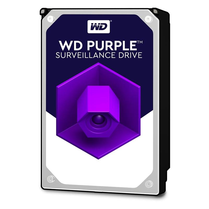 Western Digital WD60PURZ Purple 6TB, 64MB, SATA III, 6Gbps, Hard-Drive, 3 Yrs