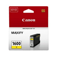 Canon PGI1600Y Yellow Ink Tank (Yield, up to 300 pages)