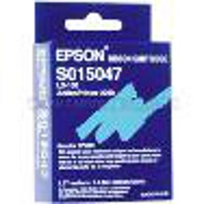 Epson C13S015047 Black Fabric Ribbon Cartridge to suit LX-100