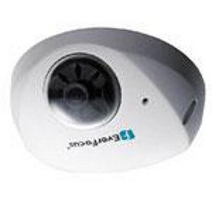 EverFocus EDN1320 IP Camera, 3 Megapixel, Mini Indoor Dome, Fixed 3.6mm Lens, WDR, DNR