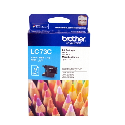 Brother LC-73C Cyan Ink Cartridge