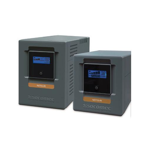 Socomec NPE-1500-LCD-AU NeTYS PE 1500VA/900W LCD Display Tower Line Interactive UPS with AVR