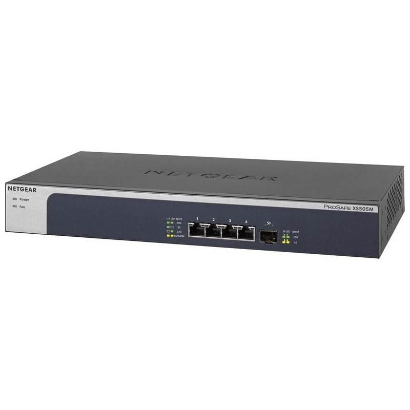 Netgear XS505M-100AJS 5 Port 10-Gigabit/Multi-Gigabit Etherent Unmanaged Switch