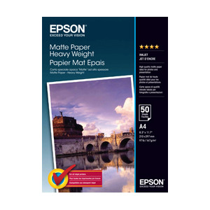 Epson Matte Paper Heavyweight (A4) - 50 Sheets