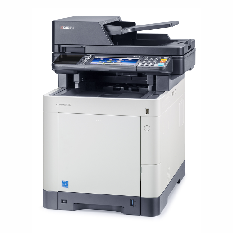 Kyocera M6535CIDN A4 Colour Laser Multifunction - Print,Scan,Copy and Fax