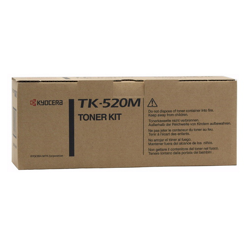 Kyocera TK-520M  Magenta Toner (4,000 Yield)