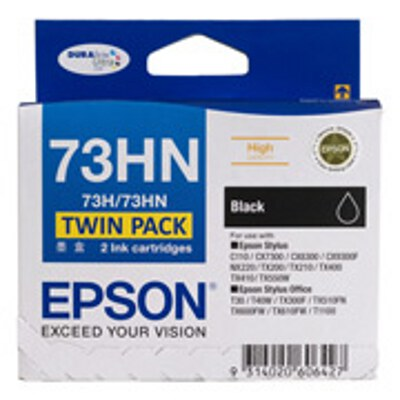 Epson C13T104194 High Capacity Black Ink Twin Pack