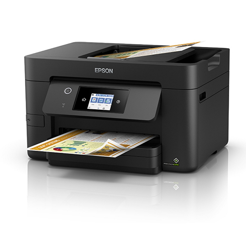 Epson WorkForce WF3825 Inkjet Multifunction with PrecisionCore - Print, Copy Scan and Fax