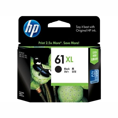 HP CH563WA #61XL High Yield Black Ink Cartridge (480 page yield)