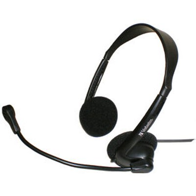 Verbatim 41646 Multimedia Headset with Microphone