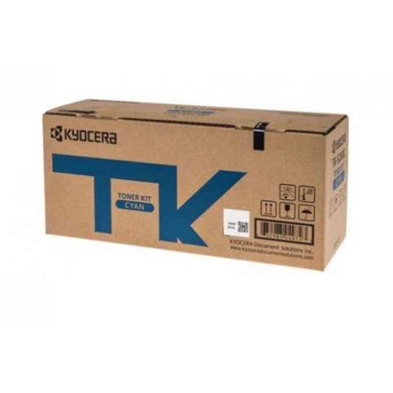 Kyocera TK-5284C Cyan Toner Cartridge (11,000 Yield)