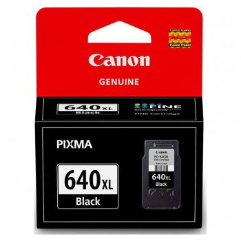 Canon PG640XL Black High Yield Cartridge (Yield, up to 400 pages)