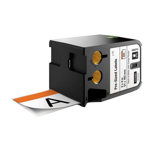 DYMO XTL 51x102 Orange RTK Die Tape