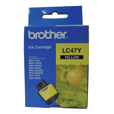 Brother Yellow Ink Cartridge for DCP-110C/MFC-210C/410CN/620CN