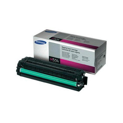 Samsung CLT-M504S Magenta Toner for CLP-415, CLX-4195 (Average 1,800 pages @ ISO/IEC 19798)