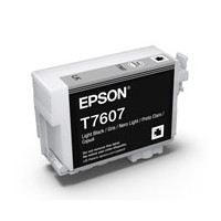 Epson C13T760700 UltraChrome HD, Light Black Ink Cartridge