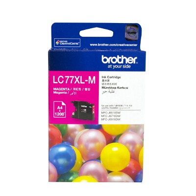 Brother LC-77XLM Super High Yield Magenta Ink Cartridge