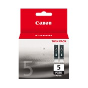 Canon PGI5BK Twin Pack Black Ink Cartridge