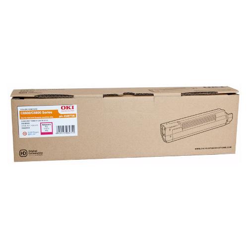 OKI Magenta Toner Cartridge 8600N (6,000 Yield)