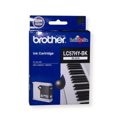 Brother LC-57BKHY High Yield Black Cartridge