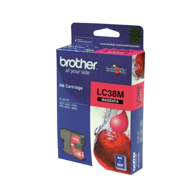 Brother LC-38M Magenta Ink Cartridge for DCP-145C/165C