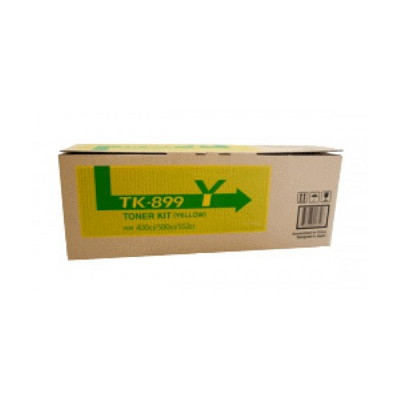 Kyocera TK-899Y Yellow Toner Kit (6,000 pages)