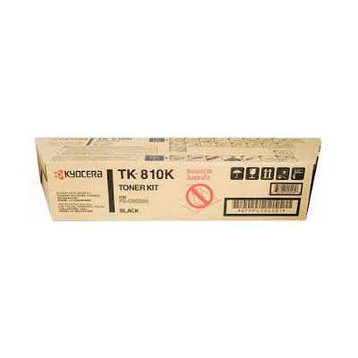 Kyocera TK-810K Black Toner Cartridge