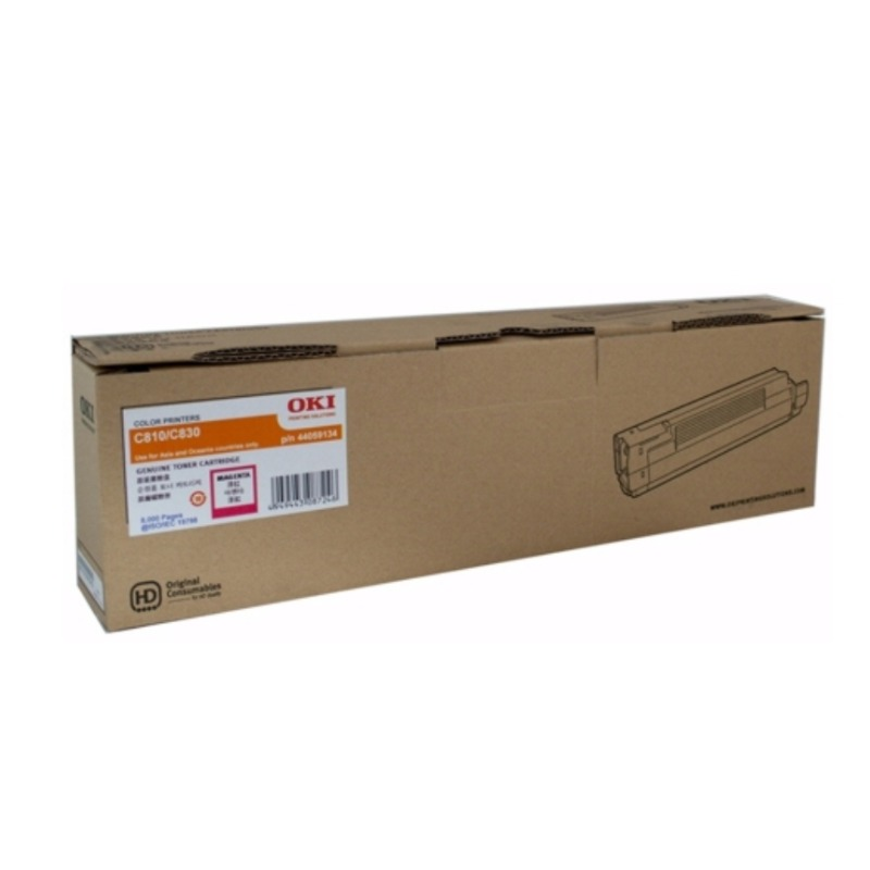 OKI 45862842 Toner Cartridge For MC853 Magenta; (7300 Pages @ ISO)