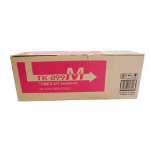 Kyocera TK-899M Magenta Toner Kit (6,000 pages)