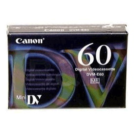 Canon DVME60 Video Cassette (60 Minutes)