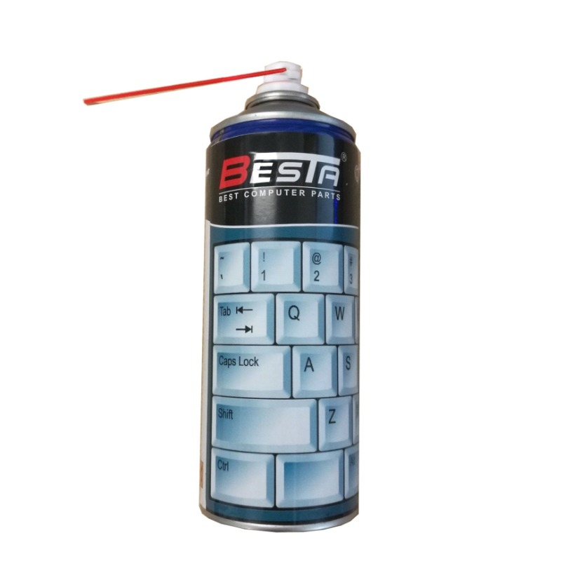 BESTA Compressed Air Cleaner, 400ml